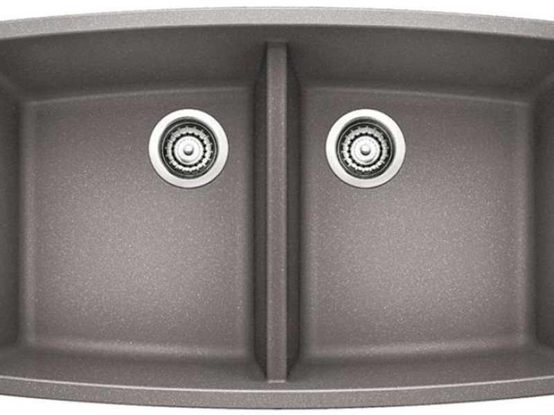 Blanco Performa Double Bowl - Metallic Gray